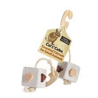 Sharples kleine N harige Cal C kubus puimsteen speelgoed
