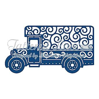 Tattered lace metal cutting Die Delivery van truck lorry D851 vehicle