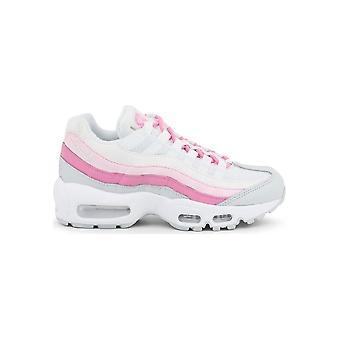 Nike - Shoes - Sneakers - CD0175-100_WmnsAirMax95Essential - Women - white,hotpink - US 5.5