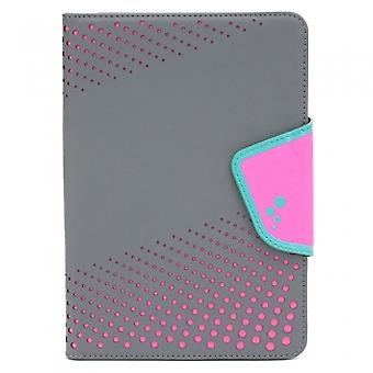 UNIVERSAL M-EDGE SNEAK FOLIO 7IN A 8IN TABLET - GRAY CON PINK