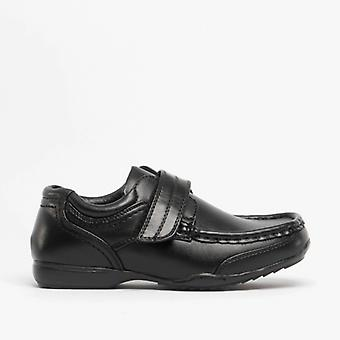 Mirak Charlie Boys School Shoes Black