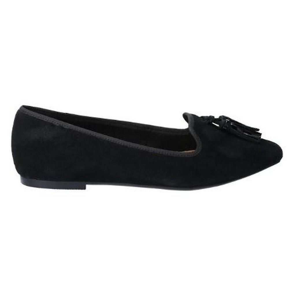 Hush Puppies Womens/Ladies Sadie Tassle Slip On Suede Shoe
