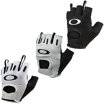 Oakley Sport Mens Factory Road 2.0 Cycling Lightweight Leather Fingerless Gloves