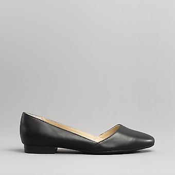 Hush Puppies Jovanna Phoebe Ladies Leather Pump Shoes Black