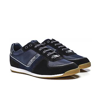 BOSS Suede Panel Glaze_Lowp_mx Trainers