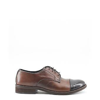 Made in italia - alberto men's lace up, brown