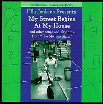 Ella Jenkins - My Street begint bij My House [CD] USA import
