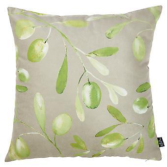 """18 """"x18"""" măsline decorative arunca perna Cover imprimate"""