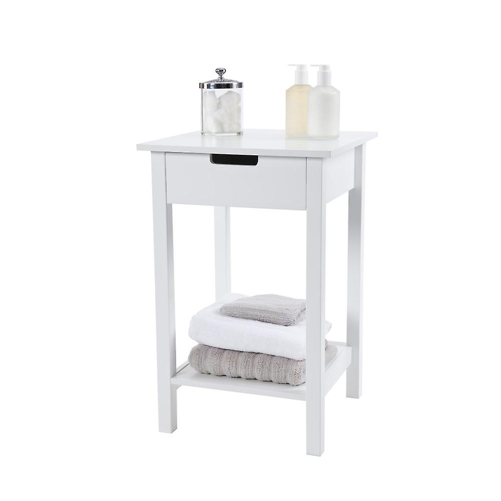 Newlyn Square Side Table with Cut-out Handle