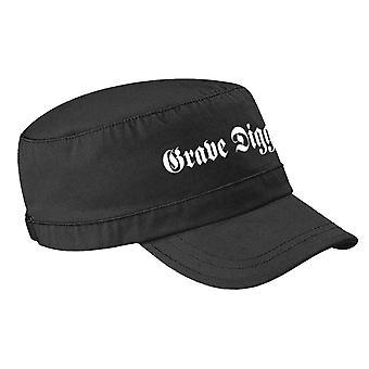 Grave Digger Army Cap Band Logo nouveau noir officiel
