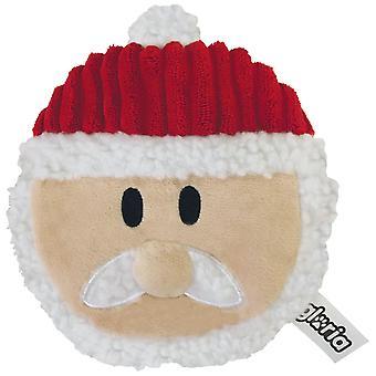 Creaciones Gloria Christmas Cookie Santa de Peluche para Perros