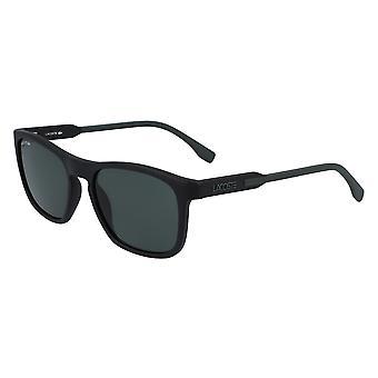 لاكوست L604SND 002 ماتي الأسود الأخضر / الأخضر النظارات الشمسية