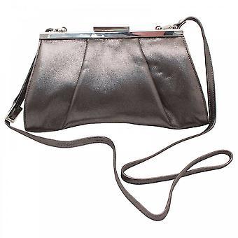 Peter Kaiser Lenja Grey Clutch Handbag With Strap