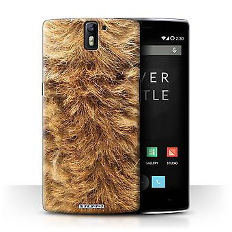 STUFF4 Case/Cover for OnePlus One/Dog/Animal Fur Effect/Pattern