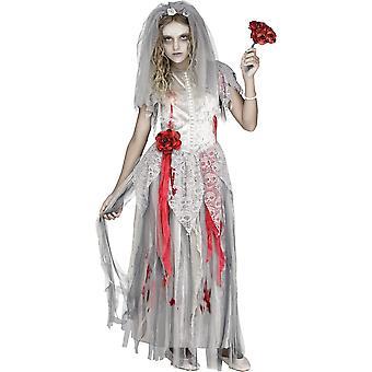 Zombie Braut Kind Kostüm