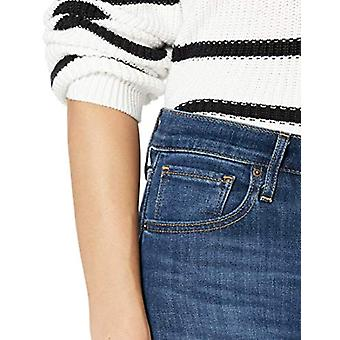 Levi's Women's 724 High Rise Straight Jeans, Carbon Glow, 24 (US 00) R