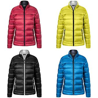 James and Nicholson Womens/Ladies Quilted Down Jacket
