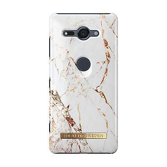 iDeal af Sverige Sony Xperia XZ2 Compact Shell-Carrara Gold