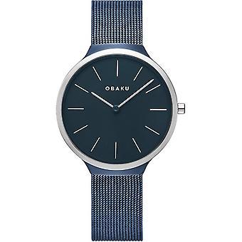 Obaku Ark Lille Arctic Women's Blue Wristwatch V240LXHLML