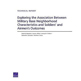 Exploring the Association Between Military Base Neighborhood Characteristics and Soldiers and Airmens Outcomes by Sarah O Meadows & Laura L Miller & Jeremy N V Miles & Gabriella C Gonzalez & Brandon T Dues