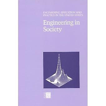 Engineering in Society by National Research Council - 9780309035927 B