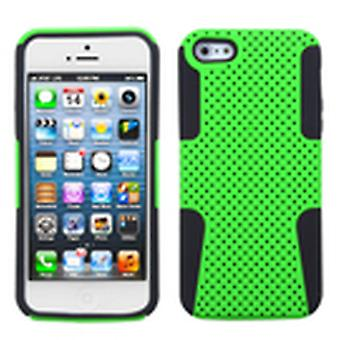 Asmyna Astronoot Phone Protector Case pour Apple iPhone 5s/5 - Vert/Noir