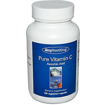 Pure vitamin C 100 veggie caps-allergi forskning gruppe