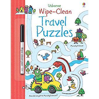 Wipe-clean Travel Puzzles by Jane Bingham - 9781474921459 Book