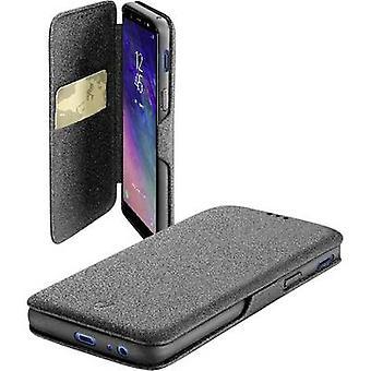 Cellularline BOOKCLUGALA6PL18K Flip cover Samsung Galaxy A6 Plus (2018) Zwart