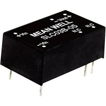 Mean Well SLC03C-12 DC/DC converter (module) 250 mA 3 W No. of outputs: 1 x