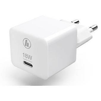 Hama Mini18 00188350 caricabatterie USB Mains socket Max. corrente di uscita 3000 mA 1 x presa USB-C