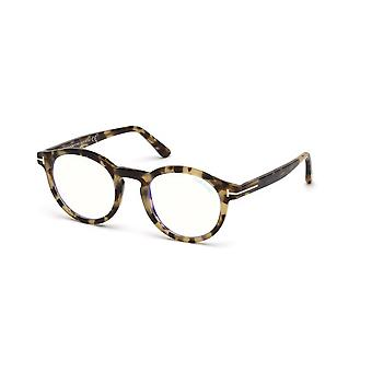 Occhiali da filtro Tom Ford TF5529-B 055 Colorati Havana-Blue
