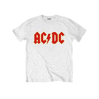 AC/DC Kids T Shirt Classic Band Logo let there be Rock new Official Ages 1-12yrs