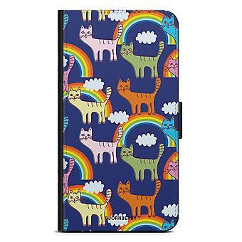 Bjornberry Case Huawei P10 - Katten en regenbogen