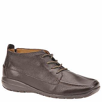 Fácil espírito Womens Adagio couro Square Toe Ankle Boots moda