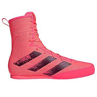adidas Box Hog 3 Boxing Trainer Scarpa Stivali Rosa/Nero