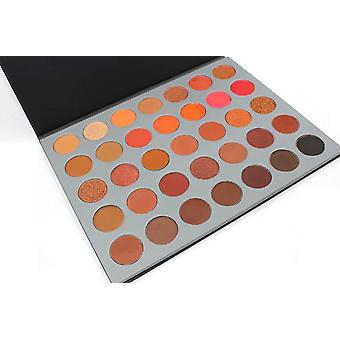 35pcs eyeshadows, eyeshadow palette, makeup palette
