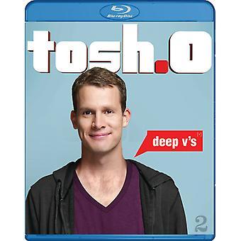 Tosh.O: Deep V's [BLU-RAY] USA import