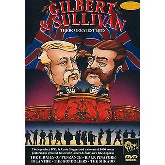Gilbert & Sullivan - Their Greatest Hits [DVD] USA import