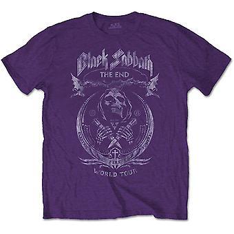 Black Sabbath The End Mushroom Cloud Officiella Tee T-shirt Mens Unisex