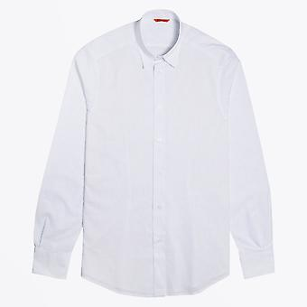 Barena - Chemise à rayures fines - Blanc
