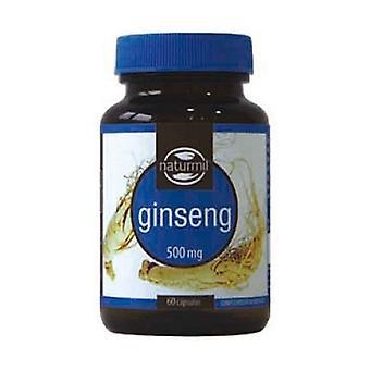 Ginseng 60 capsules de 500mg (500mg)