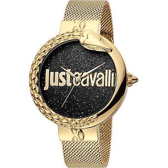Just Cavalli XL Watch JC1L096M0145 - Plated Stainless Steel Ladies Quartz Analogue
