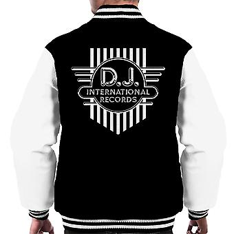 DJ International Records Cross Logo Men's Varsity Jacket