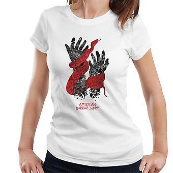 Amerikai horror Story Snake kezek nők ' s póló
