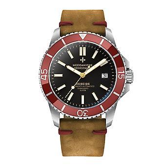 Meccaniche Veneziane 1302003 Nereide Red Bezel Automatic Wristwatch