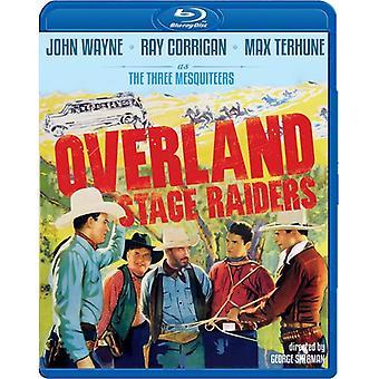 Overland Stage Raiders (1938) [BLU-RAY] USA import