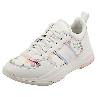 Ted Baker Laverdi Womens Fashion Trainers in Ivory