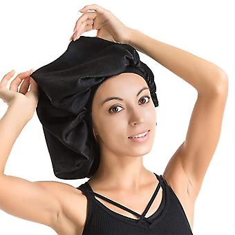 High Quality Super Giant Waterproof Shower Hair Care Cap - Luxurious Fabric