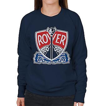Rover Logo With Border British Motor Heritage Women's Sweatshirt